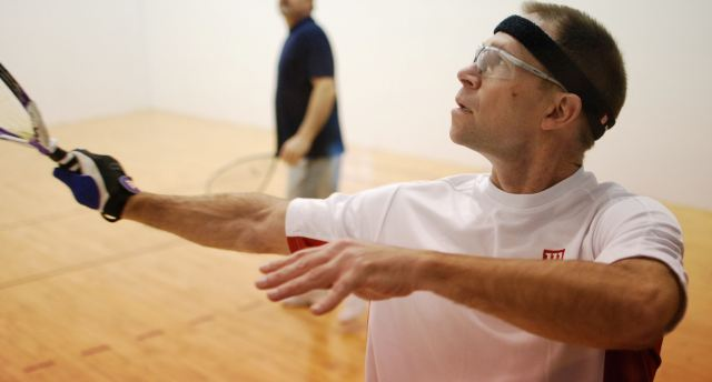 Racquetball champion and state Hall-of-Famer Rick Schacht