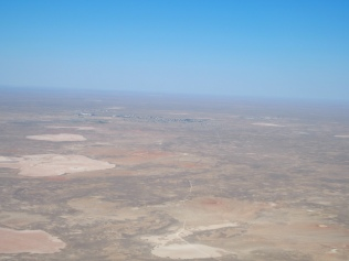 Terrain from flight to Baikonur, Kazakhstan
