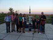 Launch Day - Dr. Doug Brunette (far left)