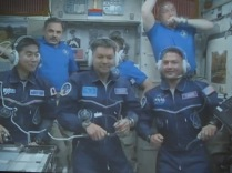 Entire crew after docking.