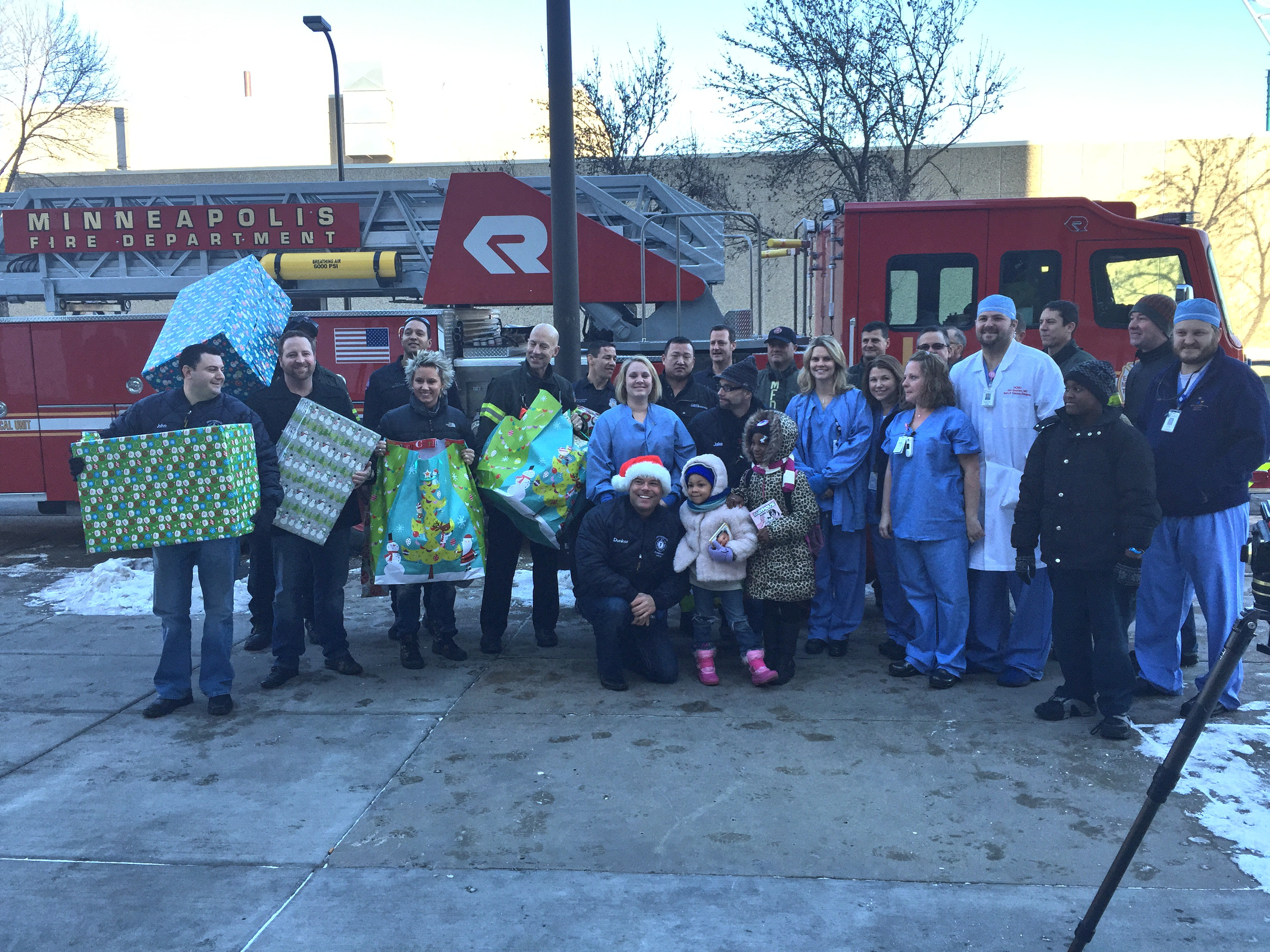 Firefighters For Healing To Bring Holiday Gifts To Burn