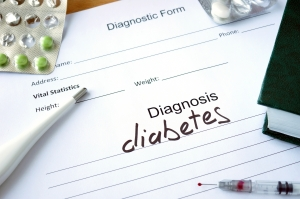 Diagnosis diabetes  and pills.