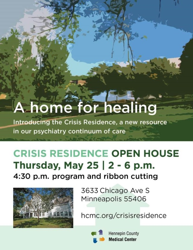 Crisis Residence Open House Scheduled For May 25 Hennepin